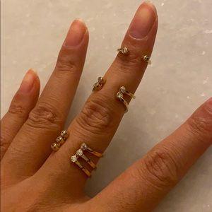 Henri Bendel Stack Ring (Size 6)